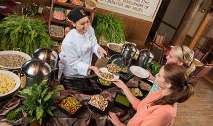 Student serves Sunday brunch in Branson